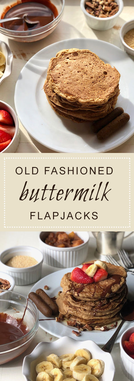 Old Fashioned Buttermilk Flapjacks